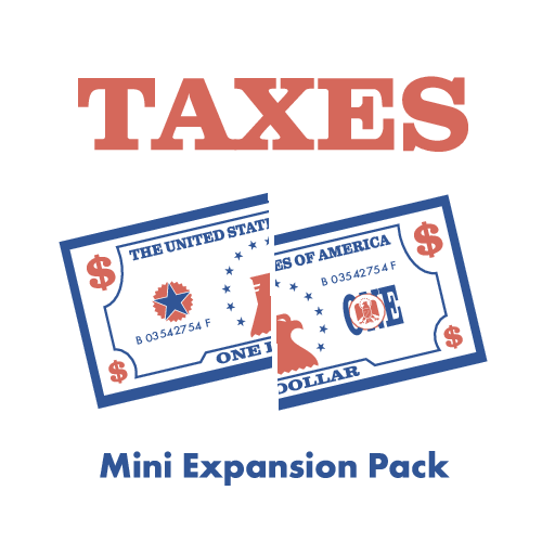 The Contender: Taxes Mini Expansion Pack