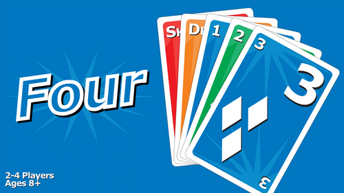 FOUR: A Family Fun Card Game