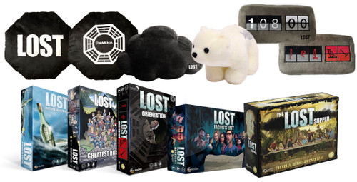 Celebrate one of tv's best shows with LOST card and board games as well as plush collectibles inspired by its best characters and moments!