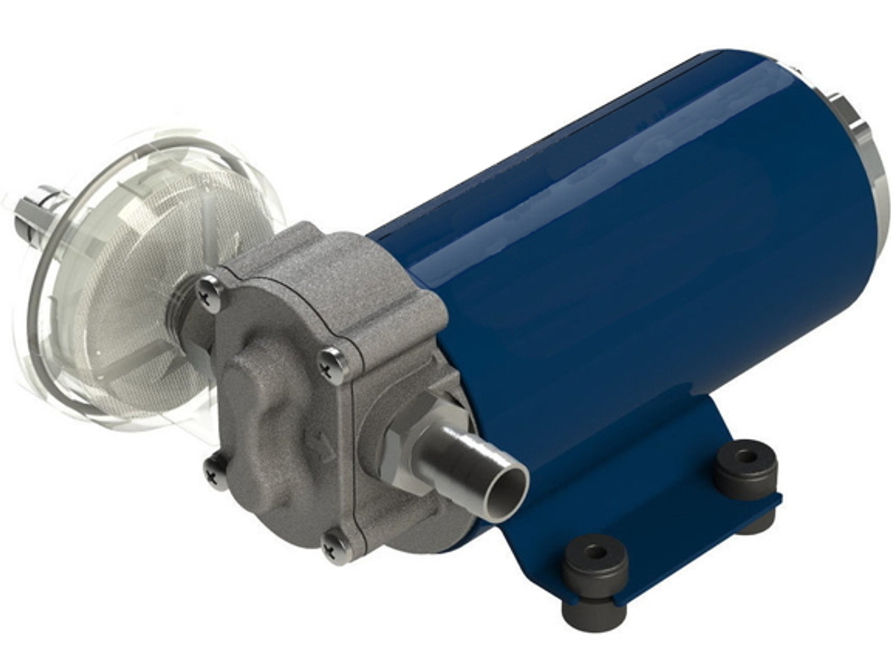 10 GPM (40 LPM) Gear Pump 12V for Light weight oils, Diesel Fuel or Water Transfer