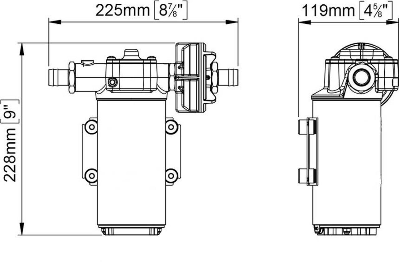 12GPM 24 Volt gear pump