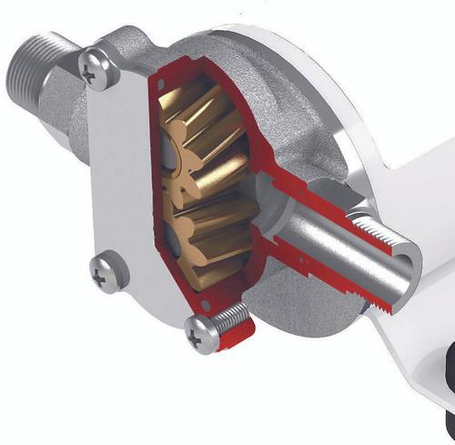 24V, 4 GPM gear pump cutout