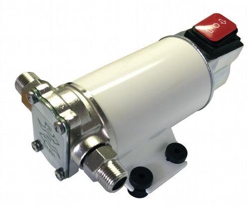 12 Volt 2GPM gear pump for motor oil or diesel fuel