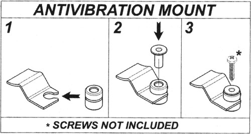 Anti Vibration Mounts Kit