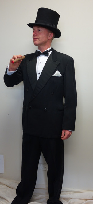 Top Hat and Dinner Suit or Tails Costume for Hire