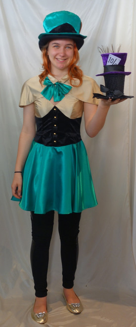 Mad Hatter Girls Costume to Hire | The Littlest Costume Shop in Melbourne