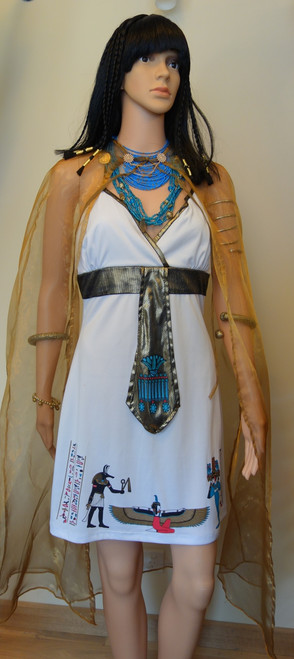 Short Cleopatra Costume for Hire