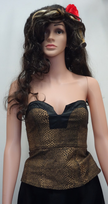 Amy Winehouse Costume for Hire - The Littlest Costume Shop in Preston, Vic