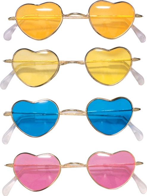 Heart-Shaped Hippy Sunglasses