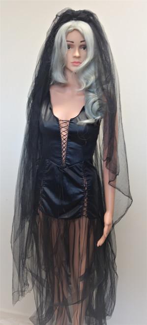 Black Bride, Evil Bride, Bride of Death - The Littlest Costume Shop - Melbourne