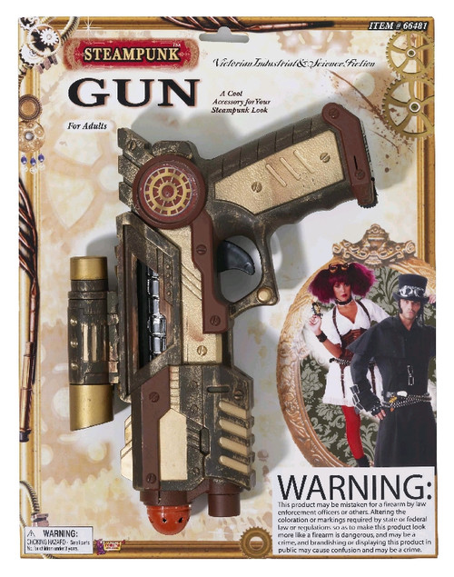 Steampunk inspired Space-Gun