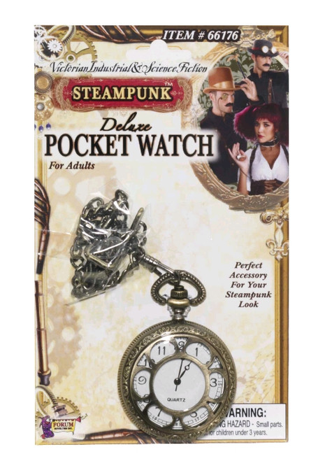 Steampunk Pocket Watch Costume Accessory