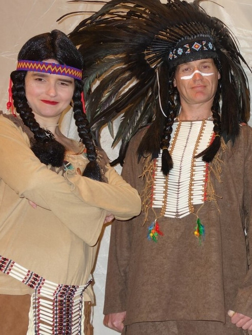 Native American Costumes for Stage or TV.