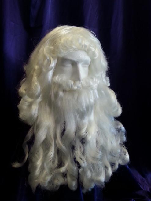 Restyled Santa Wig and Beard