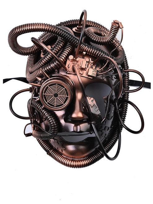 Steampunk Mask - Robotic full face