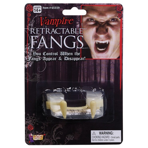 Retractable Vampire Fangs - custom fitting