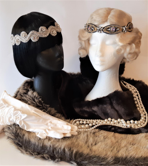 Beautiful 1920's accessories for hire.