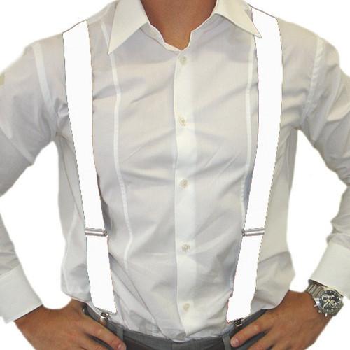 White Braces.  Men's 1920's accessories