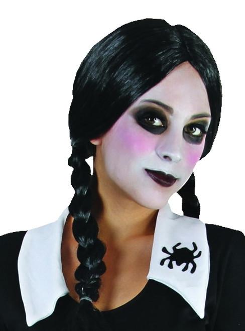 Black plaited wig