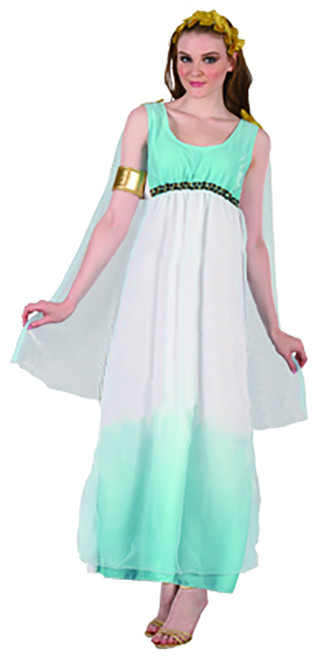 Greek Goddess Costume.  Size 8-10