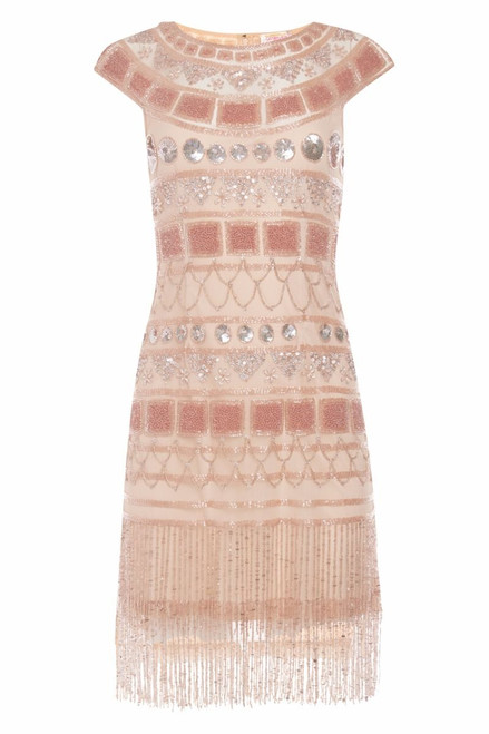 Beaded Flapper Dress for Hire  in Size 12 to 14
