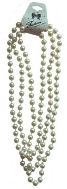 Pearl Beads 172cm long.  1920's flapper glamour costume accessory