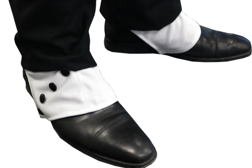 Gangster Spats Accessory