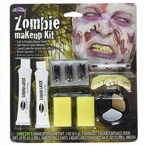 Zombie Makeup Kit - All you need to be a lurching zombie