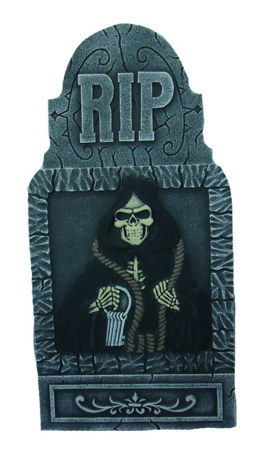 Huge Decorative Halloween Tombstone