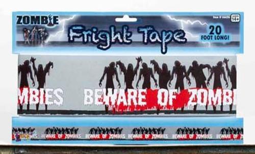Halloween Warning Tape - Beware of Zombies