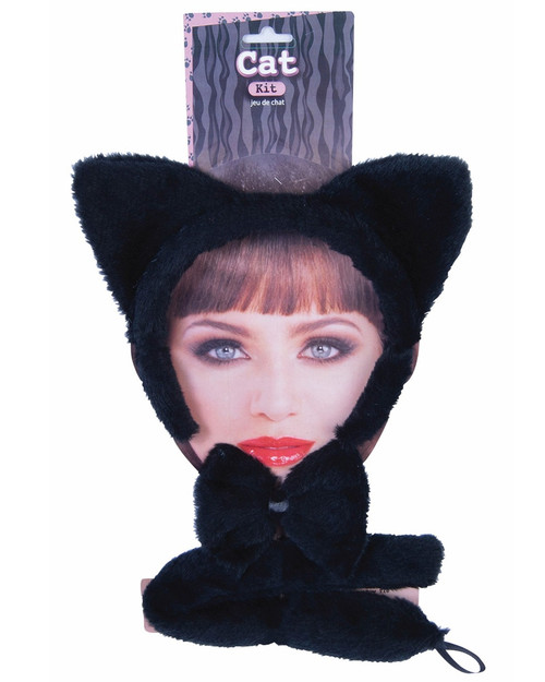 Black Cat Dress Up Set