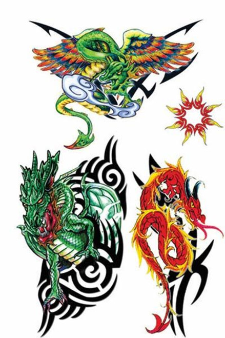 Beautiful Dragon Tattoos