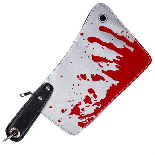 Bloody Cleaver Handbag Purse