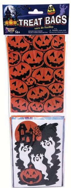 Trick or Treat Bags - 40 in each pack
