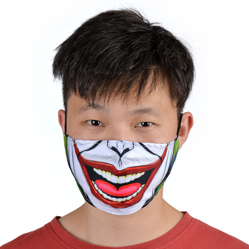 Reusable Facemask with Joker print