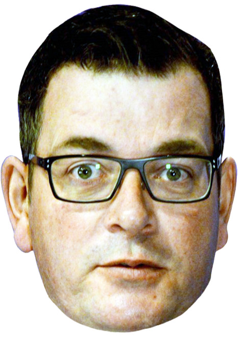 Daniel Andrews Face Mask