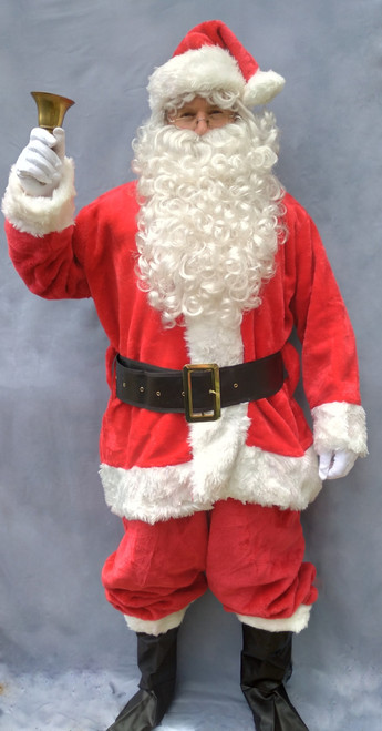 Duluxe Fur Santa Suit, complete with accessories from The Littlest Costume Shop