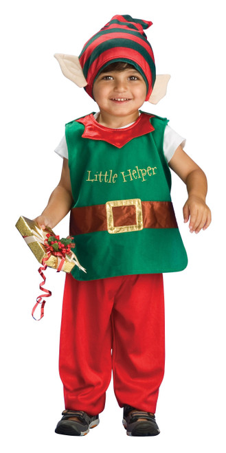 Toddler Santa's Helper Costume from The Littlest  Costume Shop