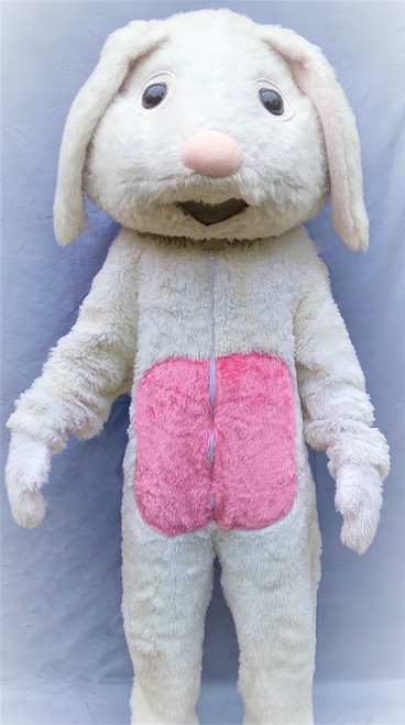 Large Mascot Easter Bunny for Hire from The Littlest Costume Shop in Melbourne
