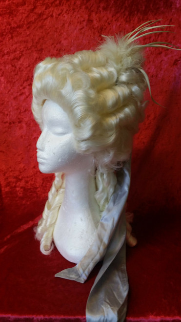 Eighteenth Century Women's Wig for Hire from The Littlest Costume Shop in Melbourne