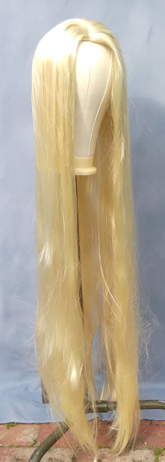 Extra Long Blonde Wig for Hire from The Littlest Costume Shop in Melbourne