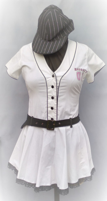 Cute and Sassy Baseball Costume for Hire from The Littlest Costume Shop in Melbourne