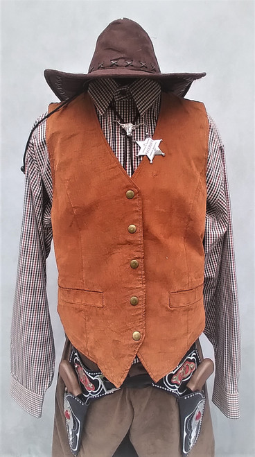 Cowboy Western Costume for Hire from The Littlest Costume Shop