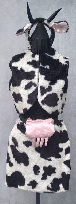 Cow Costume for Hire from The Littlest Costume Shop in Melbourne