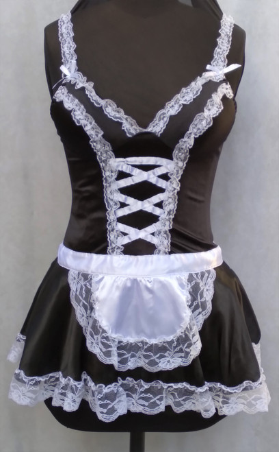 French Maid's Costume for Hire from The Littlest Costume Shop in Melbourne