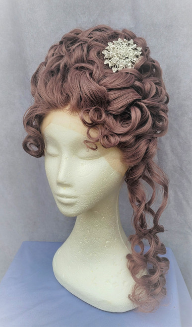 Queen Charlotte Bridgerton Wig for Hire from The Littlest Costume Shop in Melbourne