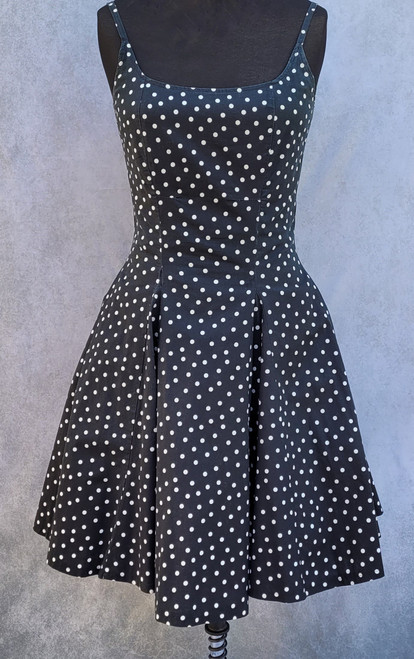 1950s Polka Dot dress for Hire from The Littlest Costume Shop in Melbourne