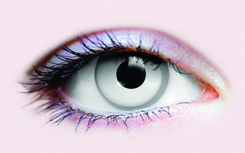 White Contact Lenses - Horror Zombie Lenses
