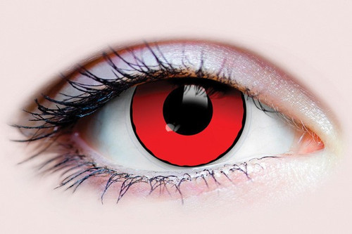 Red Contact Lenses - The Littlest Costume Shop in Melbourne