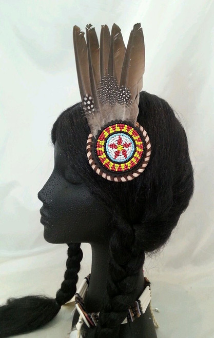 Native American Inspired fascinator